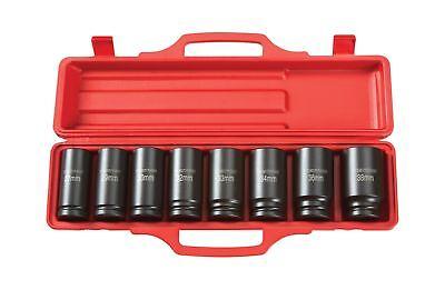 TEKTON 4889 3/4 Drive Deep Impact Socket Set, 27-38mm, Metri