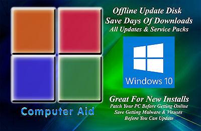 Windows 10 32   64 Bit Patch Disk   Incs  All Sps   All Updates Dvd 11 14 17