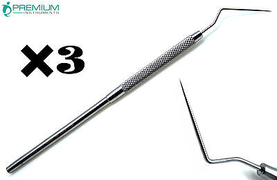 3 Dental Spreader D11 Root Canal Plugger Endodontic Premium Instruments