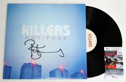 BRANDON FLOWERS SIGNED THE KILLERS HOT FUSS ALBUM LP VINYL RECORD RARE +JSA
