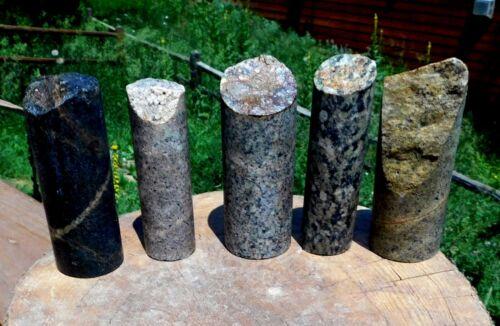 #1527 5 Gold Ore Core Samples from a local Colorado Mine. 81.07 OZ