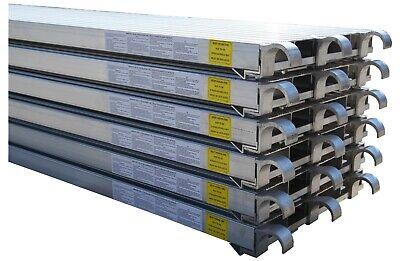 Cbm Scaffold 6 All Aluminum Walk Board Deck Platform 7 L X 19 W 75 Lbs Sq.ft
