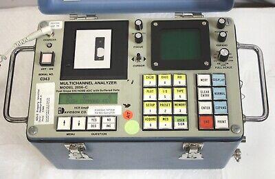 Davidson 2056-c Multichannel Analyzer Mca Passes Self Test Naitl Or Ge Probes