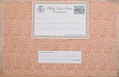 MayfairStamps Portuguese Mozambique 2$50 Brown Fruit Flora Mint Stationery Aerog