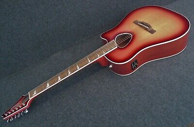 IBANEZ ALT30 RCS Altstar Acoustic Electric Cutaway Guitar Red Coral Sunburst