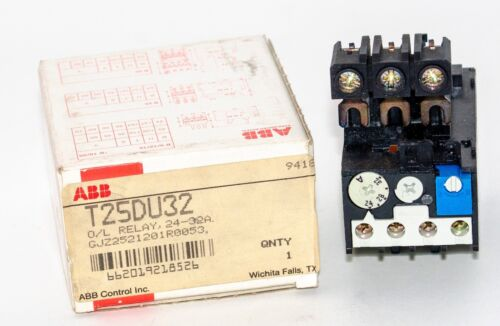 ABB T25DU32 Thermal Overload Relay 24-32A