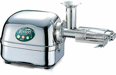New ANGEL Angelia 7000P Juicer Extractor 100% 304 Stainless Steel Twin Gears