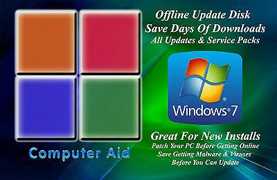 Windows 7 32   64 Bit Patch Disk   Incs  All Sps   All Updates Dvd 05 08 18