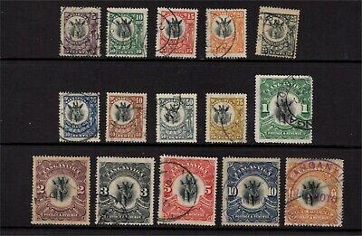 """Tanganyika GV 1922 """"Giraffe"""" set Used"""