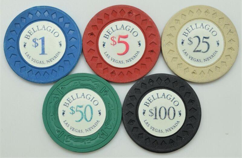 Bellagio Casino Set of 5 Ocean