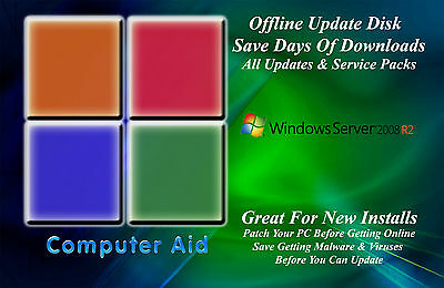 Windows Server 2008 R2 32   64 Bit Patch Disk   Incs  All Sps   All Updates Dvd