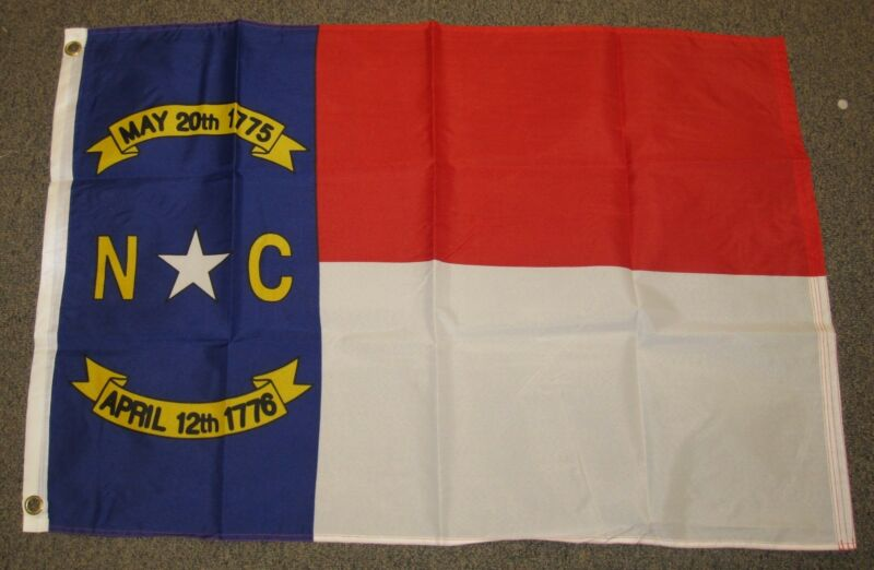 NORTH CAROLINA FLAG 2