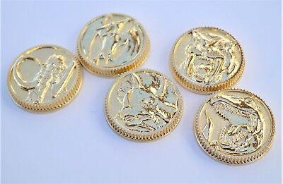 Legacy Power Coins Dino Ranger Set of 5 Legacy Morpher Set Cosplay Prop