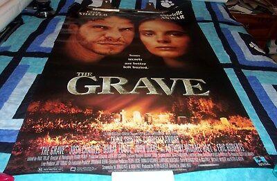 The Grave movie rental poster horror 1996 Halloween rare Sheffer Anwar - Grave Halloween Movie
