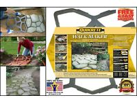 Country Stone Walk Maker Cobblestone Look for Walkways Patio Sidwalks 2x2ft Mold