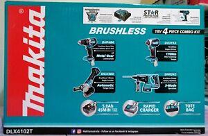Makita brand new Brushless combo kit.