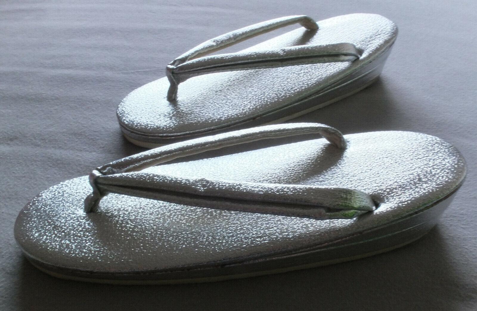 Vintage, 1970, Zori, Schuhe aus Japan, Zehenschuhe, Größe 36, 23 cm