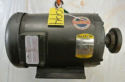 Baldor Electric Motor M37087 5hp 208230460v 215t Frame Free Ship Used
