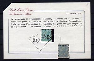 1863-splendido-15-c-nuovo-cert-E-Diena-8500-euro