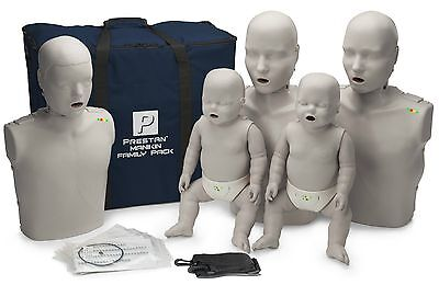 Prestanfamily Pack Cpr Aed Manikins With Monitor - 5 Pack