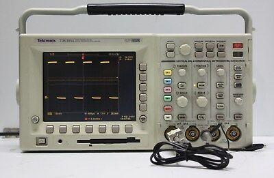 Tektronix Digital Phosphor Oscilloscope Tds3054 With Probe
