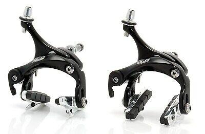 XLC Comp Br-R01 Bicicleta de Carreras Juego de Frenos Negro Nuevo