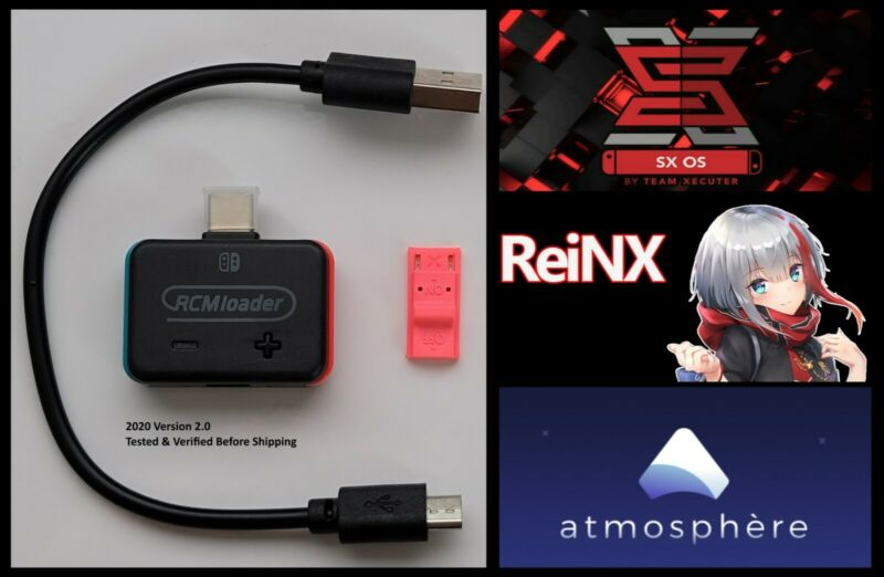 RCM Payload bin Loader For Switch / Free Same Day Ship / Tested / V2 2020