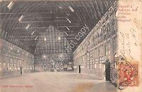 Cartolina Padova Palazzo Della Ragione Interno Primi '900 - inter - ebay.it