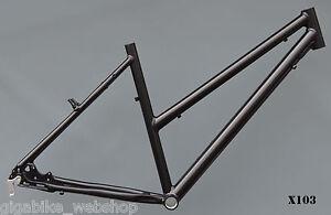 Trekkingrad Sport Damen Rahmen 49 cm schwarz 28