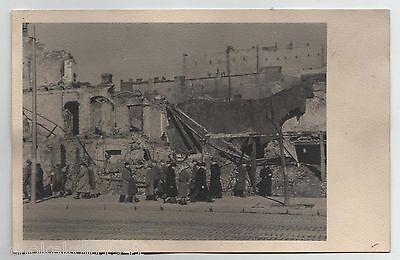 AK Warschau/ Warszawa --zerstörtes Häuser-- um 1940