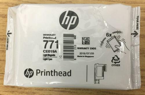 HP 771 Print Head CE019A Lt.Magenta Lt.cyan Genuine Z6200  U.S. orders ship USPS