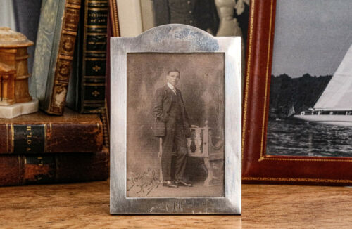 Nice Antique Edwardian Sterling Silver Photograph Picture Frame