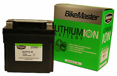 New Lithium Ion Battery DLFP-12A-A Yamaha XV500 Virago XS400 XS360 SR250 SRX250