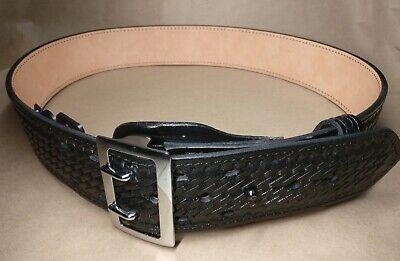 Womens Gould Goodrich B192-40w Sally Browne Chrome Duty Belt Fits 40 Waist