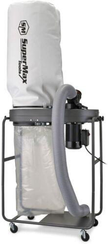 SUPERMAX TOOLS 1-1/2 Hp Dust Collector, Model:SUPMX-82120