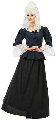 Colonial Halloween Costumes Adults (Martha Washington Colonial Woman Fancy Dress Up Halloween Adult)