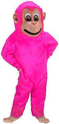 Pink Monkey Professional Quality Lightweight Mascot Costume