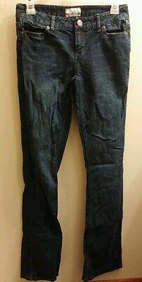 AEROPOSTALE Jeans Chelsea Bootcut 1/2 Regular Dark wash VGUC Aeropostale Bootcut Jeans