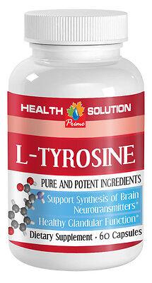 L-TYROSINE Best Anti Anxiety Pill Stress Relief Panic Attacks 1