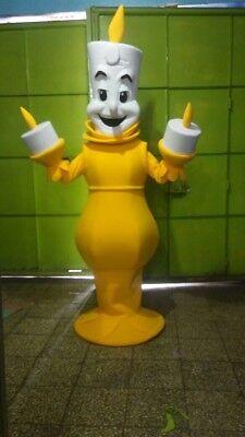 ie Schöne und das Biest Maskottchen Kostüm Party Charakter (Lumiere Kostüm)