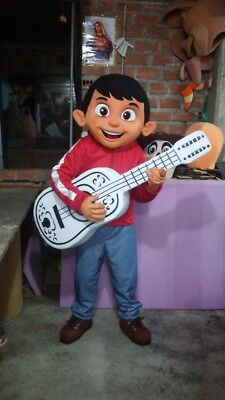 Miguel Rivera Boy Coco Movie Mascot Costume Party Character Birthday Halloween