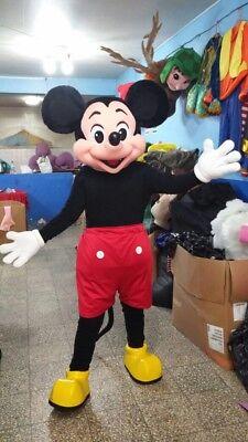 Mickey Maus Rot Shorts Maskottchen Kostüm Party Charakter Geburtstag Halloween ()