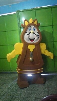 Cogsworth Costume (Clock Cogsworth Beauty And The Beast Mascot Costume Party Character)