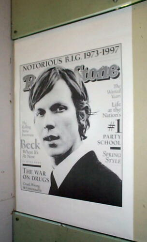 BECK Rolling Stone Cover Vintage 1997 Poster LAST ONE