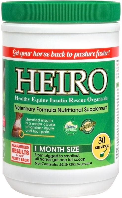 HEIRO Equine Insulin Resistance Supplement for Horses 30 Servings