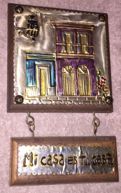 Puerto Rico - Folk Art - Souvenir Piece - Wall Hanging