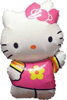 Hello Kitty Sommer Kleid ca. 80cm Luftballons Folienballon Geburtstag Figur