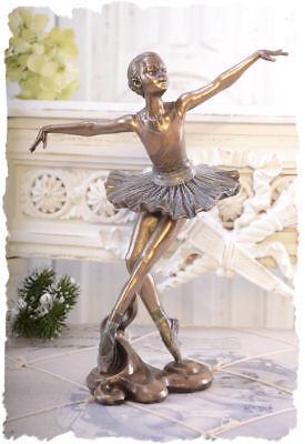 Nostalgie Ballett Tänzerin Ballerina Figur von Veronese Schwanensee vintage Stil