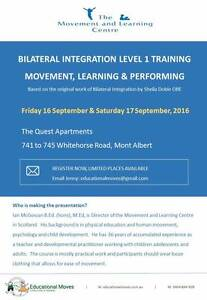 Bilateral Integration Training - Level 1 Burwood Whitehorse Area Preview