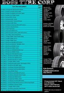 *****February Truck Tyre Specials***** Brisbane City Brisbane North West Preview